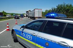 Lkw-Auffahrunfall A3 Medenbach 06.06.14