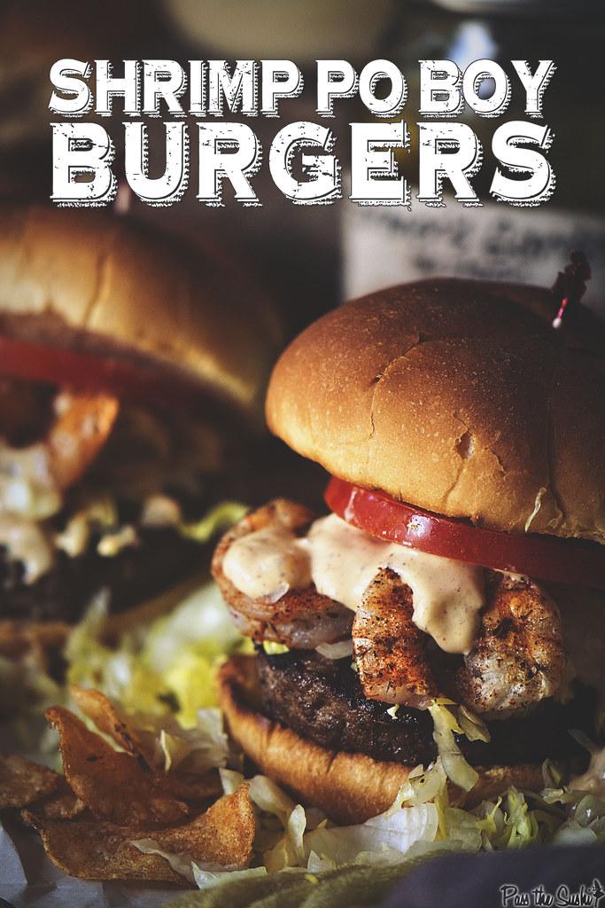 Shrimp Po Boy Burgers | PasstheSushi.com
