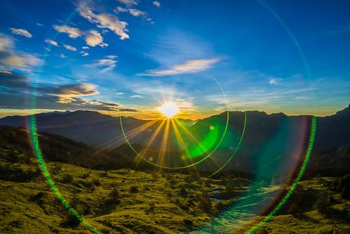 Taiwan.Hehuan Mountain.Sunrise.合歡山