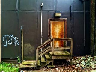a back door