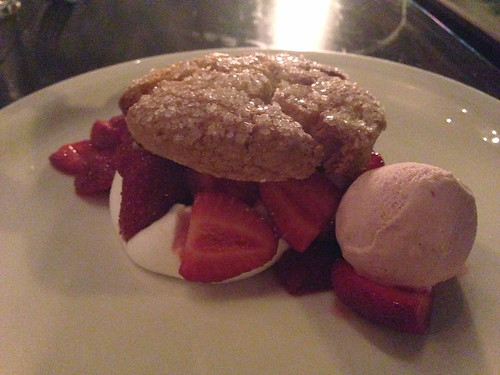 Strawberry Shortcake at Cook's County