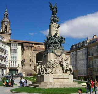 Monumento a la Batalla de Vitoria.