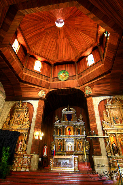 Paete Church interior