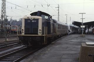 12.04.88  Saarbrücken Hbf  212.063