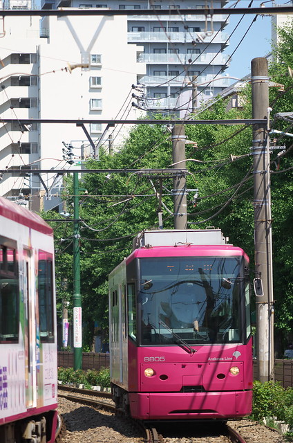 Tokyo Train Story 都電荒川線 2014年6月15日