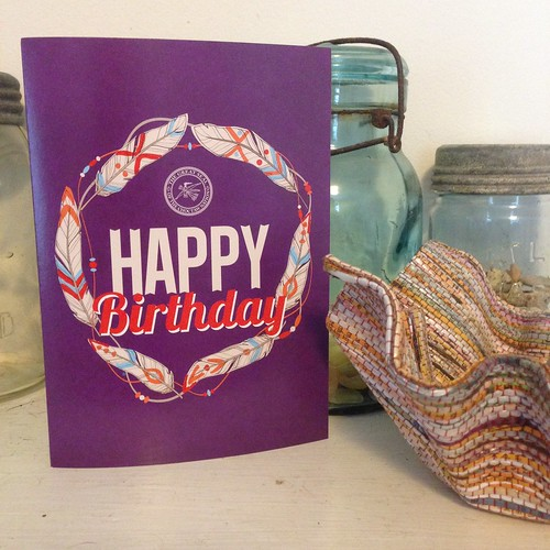 Birthday Card from Choctaw Nation (2014)