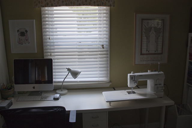 Where I sew - craft room