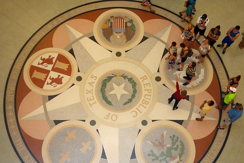 Rotunda floor