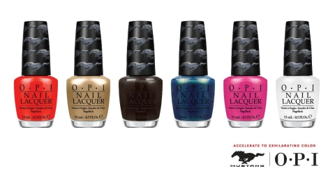 OPI_Ford Mustang Collection-2, nail polish, limited edition