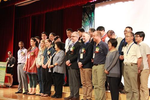 2014 LAB生物多樣性國際研討會開幕式合影