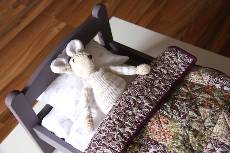 personalized doll bed