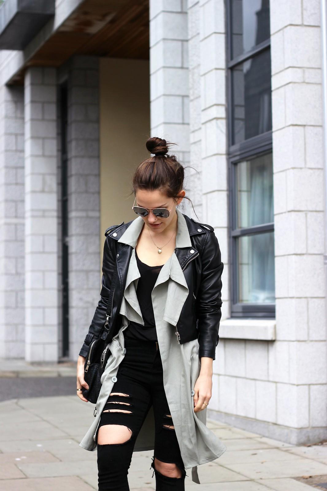 Choies long sleeveless waistcoat 5