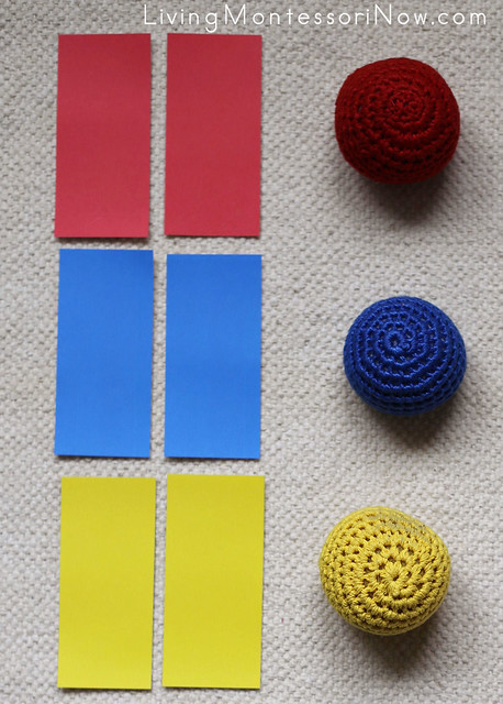 Color Tablet and Yarn Ball Layout