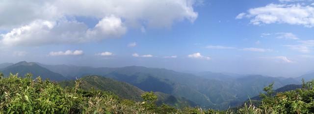 小津権現山 山頂からの眺望