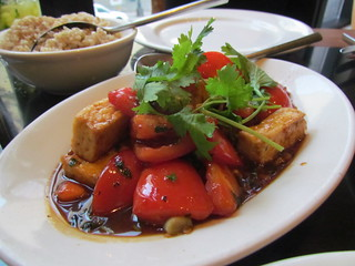 Vietnamese Tofu and Tomato at Wild Ginger