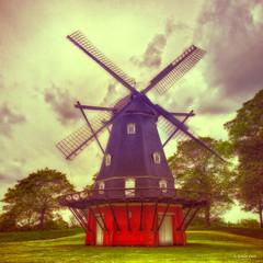 Kastellet Windmill.