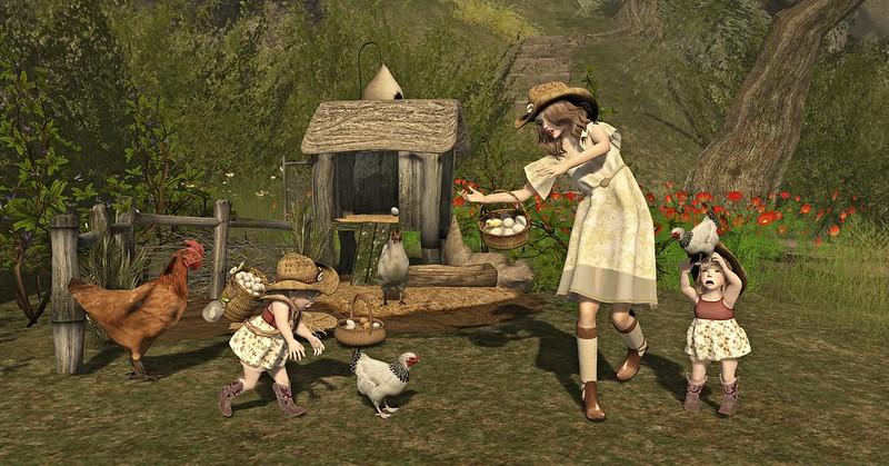 """Amelie et les petites: Episode """"Country life"""""""