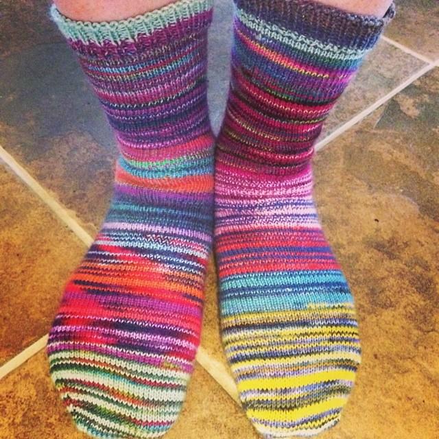 Closer view of Blender #socks #knit