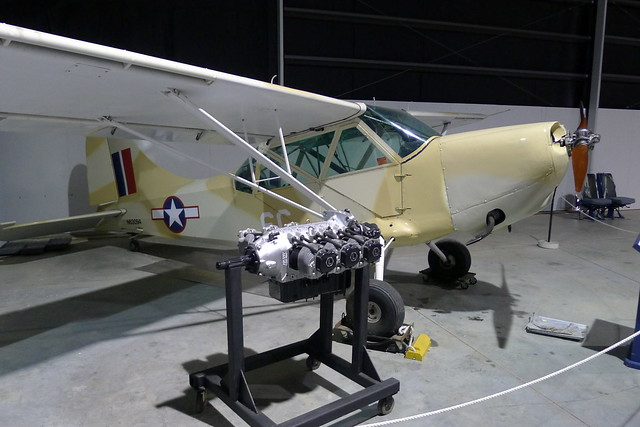 Lycoming 0-435 aircraft engine
