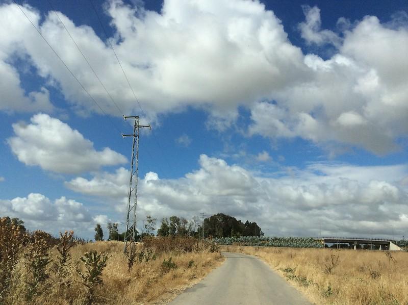 Leaving Jerez De La Frontera