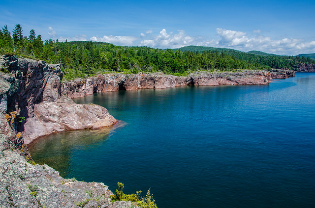 One of the beautiful coast of Lake Superior