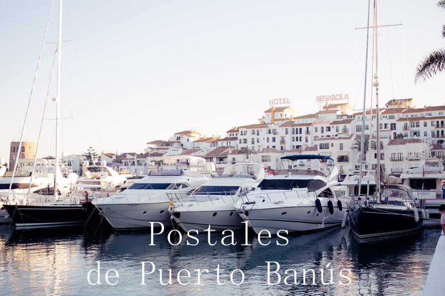 Postales de Puerto Banús