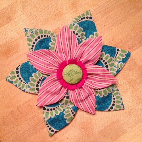 195:365 The amazing Terra Australis flower I won from @scrapbag arrived today. Emma - thank you so much! I love it!!