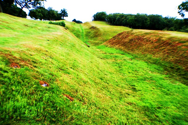 Antonine Wall at Bonnybridge, Scotland