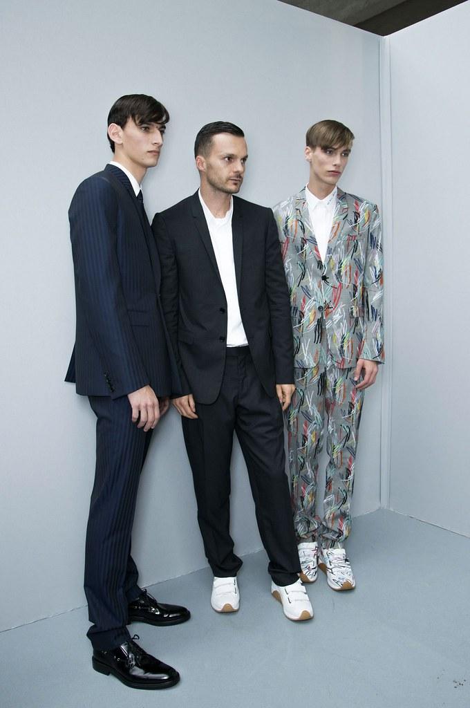 Marc Schulze3094_SS15 Paris Dior Homme_Kris Van Assche, Thibaud Charon(fashionising.com)