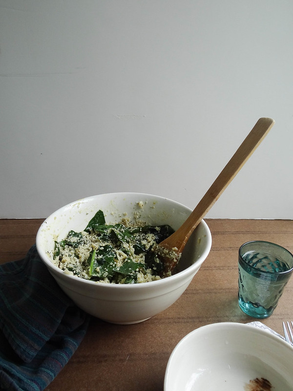 lacinato kale & brown rice salad