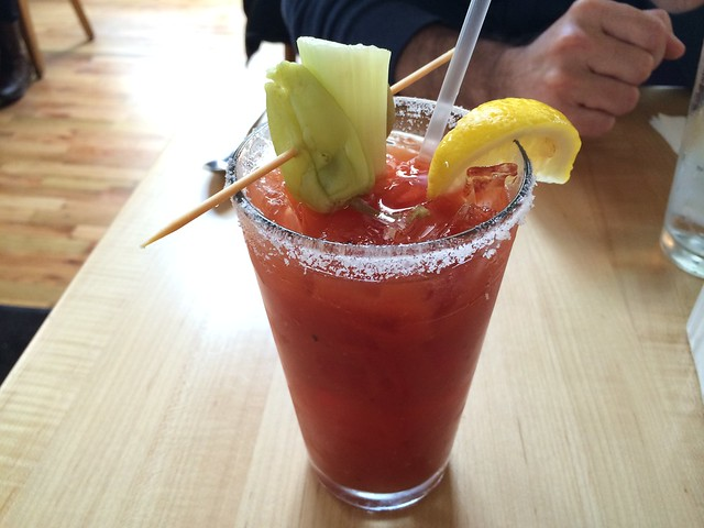 Mother's Famous Bloody Mary - Mother's Bistro & Bar