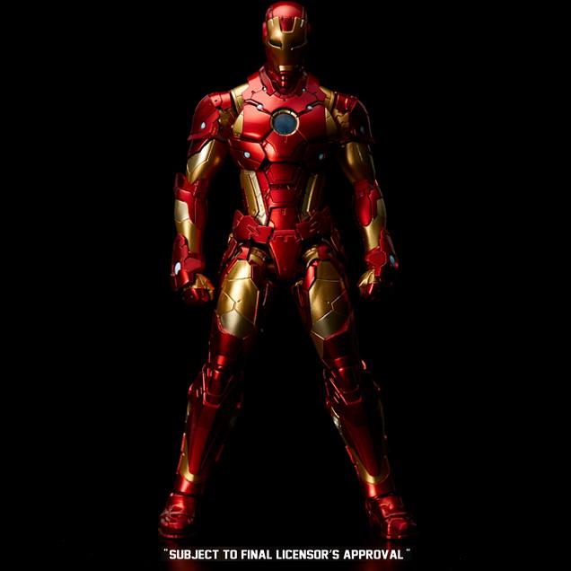 """千值練 打造全新造型的超級英雄系列""""RE:EDIT"""" ,首波當然是『鋼鐵人』!"""