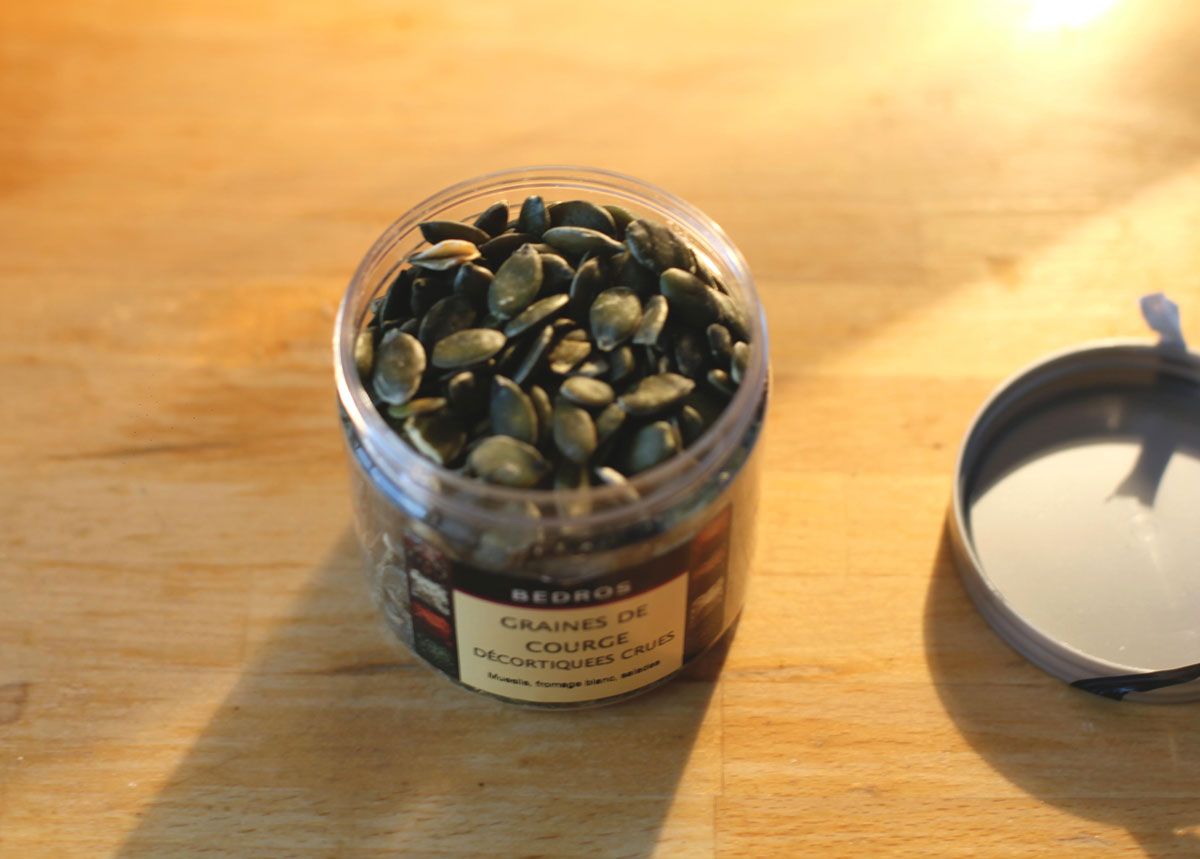 Green Pumpkin Seeds