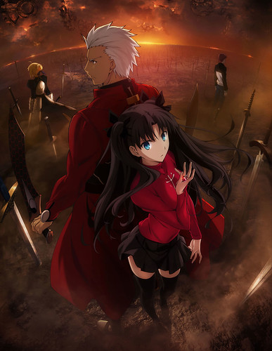 140728(4) -「遠坂凛」路線再臨!全二季動畫《Fate/stay night - Unlimited Blade Works》敲定10/4放送、海報&預告更新! 1