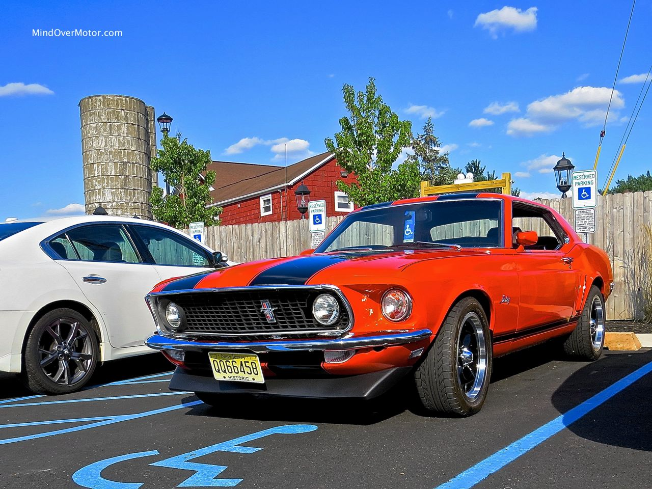 1969 Ford Mustang Notchback Spotted In Somerset Nj Mind