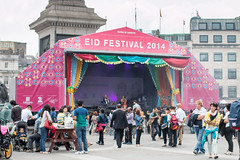 Eid Festival Trafalgar Square London