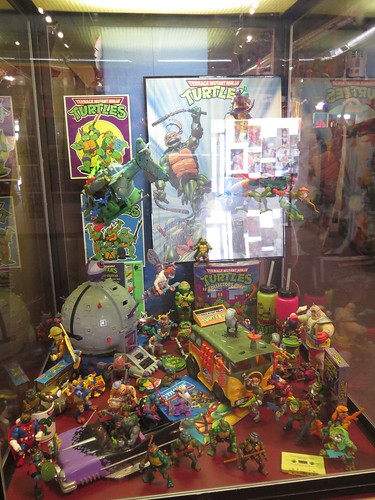 TMNT Display at the Toy & Action Figure Museum