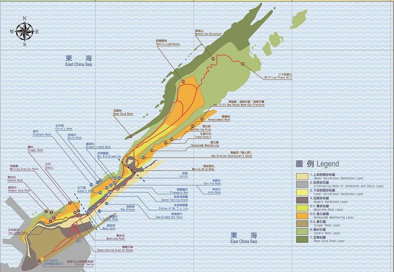 Yehliu map