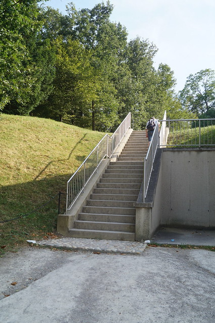 Stairs to Schonbrunner Bad