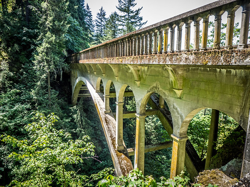 Shepherd's Dell Falls Bridge