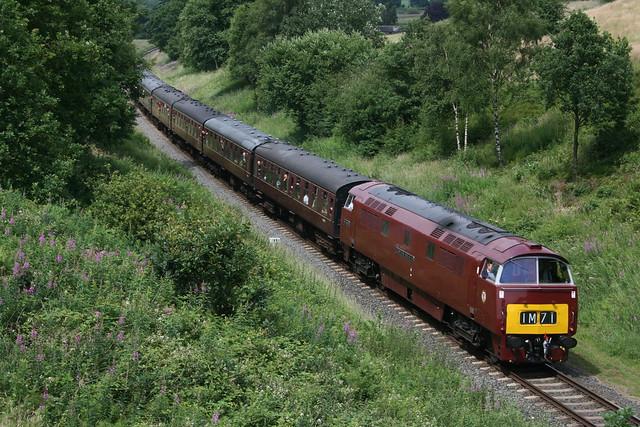 British Railways Western Class 52 D1062 'Western Courier'
