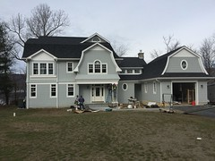 Hardie Plank Siding Project