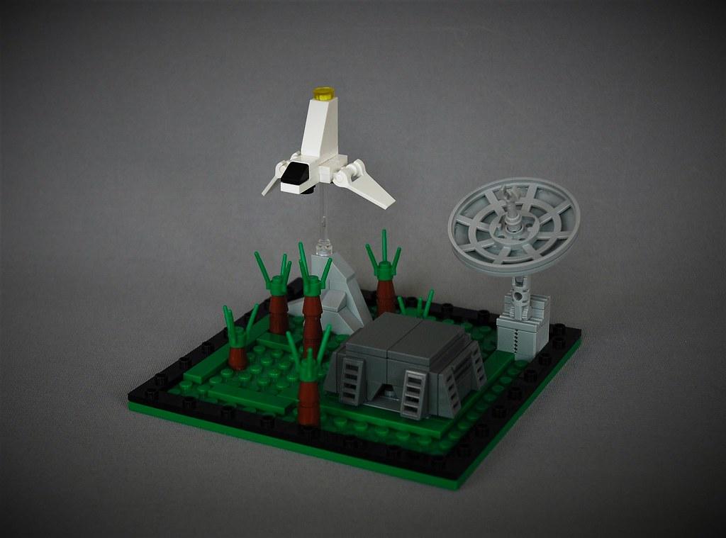 Mini Endor – tabletop version (custom built Lego model)