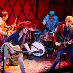 Wed, 22/02/2017 - 5:35pm - Old 97's - Rhett Miller, Murry Hammond, Ken Bethea, and Philip Peeples - perform for a lucky crowd of WFUV Members at Rockwood Music Hall in New York City, Feb. 22, 2017. Hosted by Carmel Holt. Photo by Gus Philippas