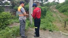 Unidad de Gestión de Riesgos evalúa los sectores que se encuentran en zonas de peligro