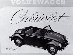 VW Hebmüller Cabriolet Type 14A (1949)