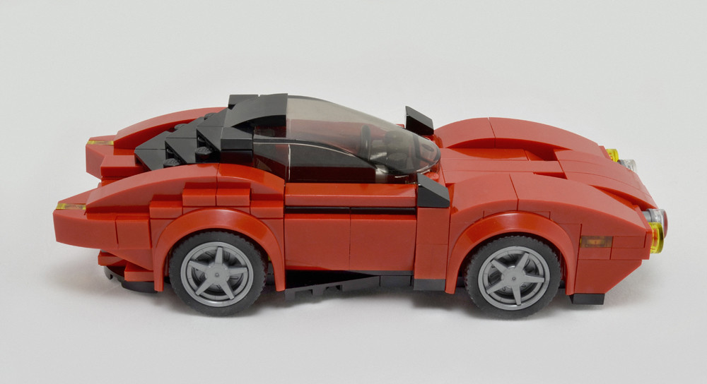 Disruptor S (custom built Lego model)