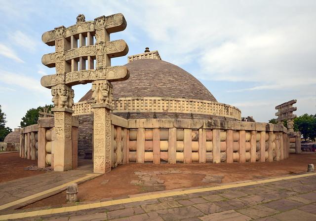 India - Madhya Pradesh - Sanchi - Stupa 1 - 254
