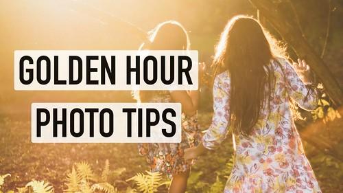 Outdoor Golden Hour Photography Tips - iPhone