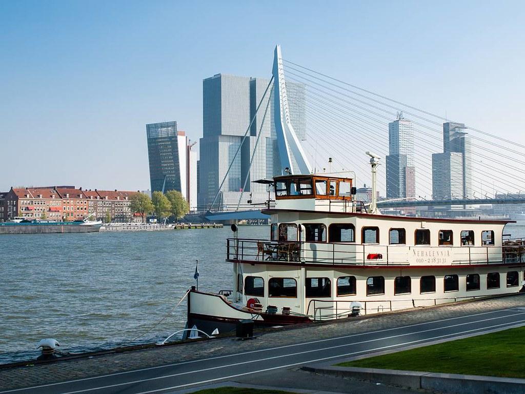 Skyline Rotterdam. #skyline #rotterdamcity #rottergram #rotterdam #coruña #photography #travelphoto